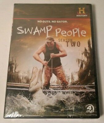 Swamp People Season 2 - DVD  New and Sealed Region 1 Free Shipping