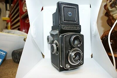 Yashica-A TLR Medium Format Film camera