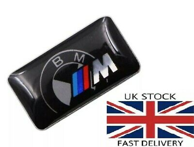 4Psc M Sport Performance Alloy Wheel Badge Sticker Emblem Decal For BMW 9x17mm