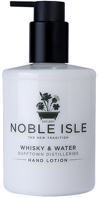 """Noble Isle """"Whisky & Water"""" Hand Lotion & A FREE Molton Brown 30ml - BRAND NEW"""