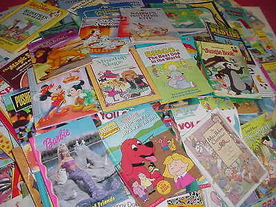 Lot of 1000 Disney Golden Scholastic Learn to Read Mixed Set Kids Children Books