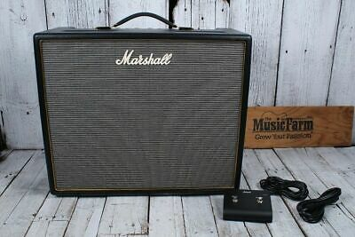 MARSHALL ORIGIN 50 Electric Guitar Amplifier 50 Watt Tube Combo Amp w  Footswitch