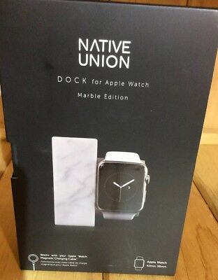Native Union DOCK for Apple Watch - MARBLE EDITION