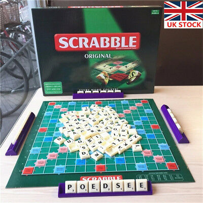 Scrabble Board Game Family Kids Adult Educational Toys Puzzle Game