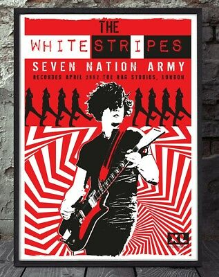 The White stripes poster. Specially created.