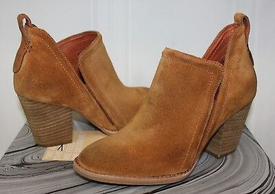 8db81a2e6a2a Jeffrey Campbell Vanhook booties tan camel suede new  Burman  style NEW ...