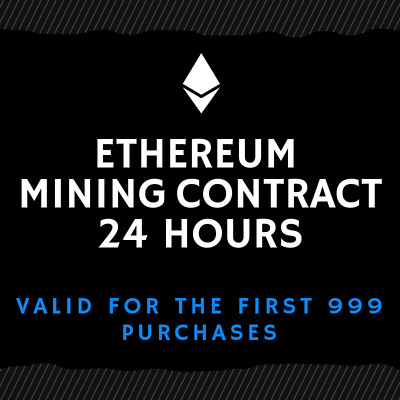 24 hour - Ethereum Mining Contract (TOP ETH/CRYPTO OFFER)