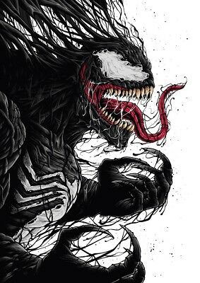 "Venom Movie Poster Tom Hardy Marvel Comics Art Film Print 13X20 24x36"" 27x40"" #5"