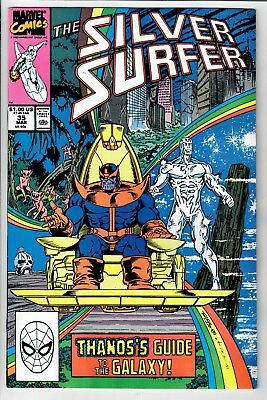 Silver Surfer #35 -- THANOS!!!