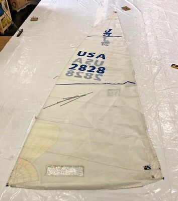 Mainsail for J 24 by UK Sailmakers  - 26.7' luff, good condition