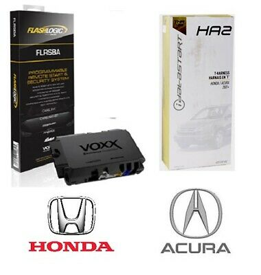 Flashlogic FLRSBA Remote Start Module 3X LOCK - Selected 2003-15 Acuras/ Hondas