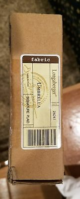 Longaberger Full Size Umbrella Signature Plaid Pattern New in Box Perfect 24241