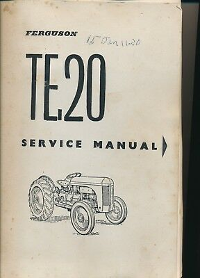 Ferguson tea20 manual array ferguson tractor te20 workshop manual petrol u0026 diesel 29 99 rh fandeluxe Images