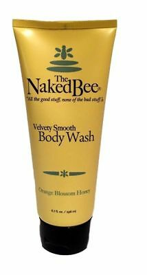 The Naked Bee Orange Blossom Honey Velvety Smooth Body Wash 6.7 oz