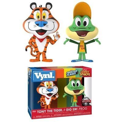 Funko 2pack Vynil AD ICONS Tony The Tiger + Dig'em Frog