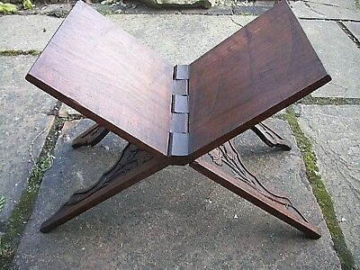 Antique Anglo/indian  Folding  Koran Book Stand