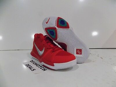 best service 521ab 94b72 NIKE KYRIE 3 (PS) Basketball Shoes Youth Sz 12c-2Y Red 869985 601 NEW MSRP  $80