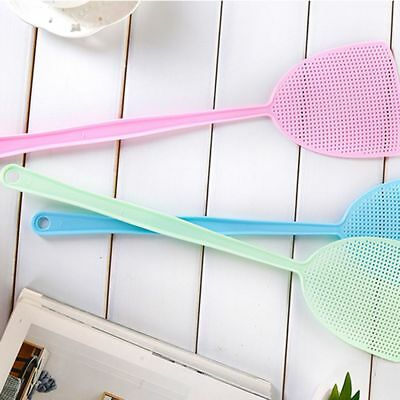 Fly Swatter Manual Swat Pest Control Long Handle Assorted Killer Catcher