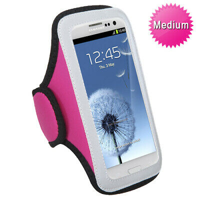 For Vertical Pouch Universal Hot Pink Sport Armband