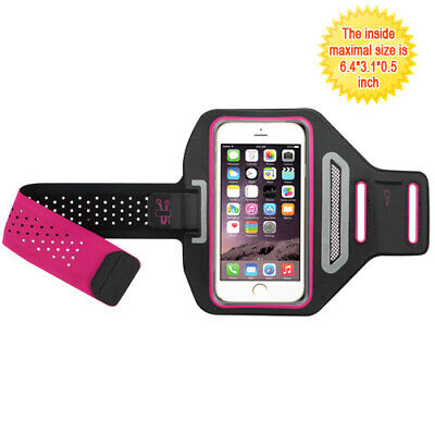 For Vertical Pouch Universal Hot Pink/Black Sport Advanced Armband Case