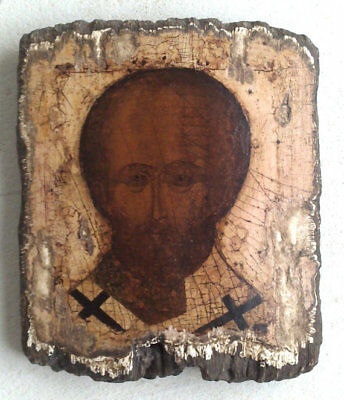 Copy of an antique Russian Orthodox icon. St. Nicholas . Wall Decor home.