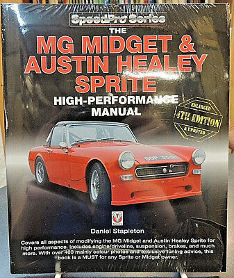 MG Midget & Austin Healy Sprite High-Performance Manual 4th Ed New Stapleton