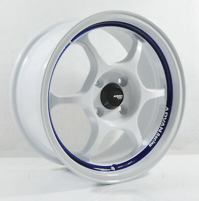 4pcs ADVAN RG1 15 inch Mag Wheels Rim 4X100 Alloy wheel Car Rims W SY5038 -1