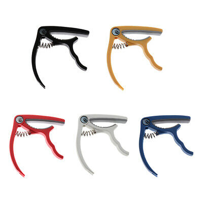 Quick Change Tune Clamp Key Trigger Capo For Acoustic Electric Guitar Uke