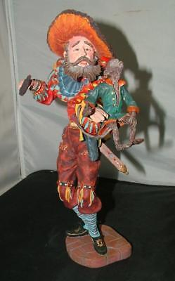 Duncan Royale MOUNTEBANK History of Clown Rare Limited Ed Sculpture Figurine