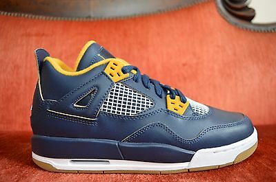 NEW Nike Air Jordan 4 IV Retro Dunk From Above Mens Youth 408452 425 Sizes 4-7Y