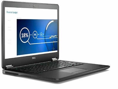 "Dell Latitude E7450 Intel i7 5600u 2.6Ghz 8Gb Ram 256Gb SSD 14"" HD Win 10 Pro"