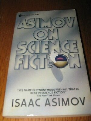Asimov on Science Fiction by Isaac Asimov - 1st Discus PB ed (1982)