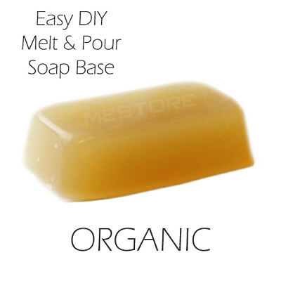 Melt and Pour Soap Base - ORGANIC 450g