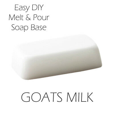 Melt and Pour Soap Base - Goats Milk 450g