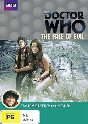 Doctor who the face of evil DVD tom Baker Louise Jameson Leela introduction dr