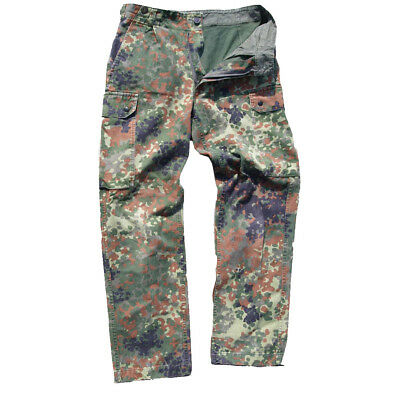 German Army Flecktarn Camouflage Trousers