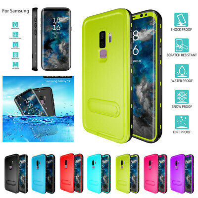 Waterproof Case Shock Proof Full Slim Cover for Samsung Galaxy S8 S9 Plus Note 9