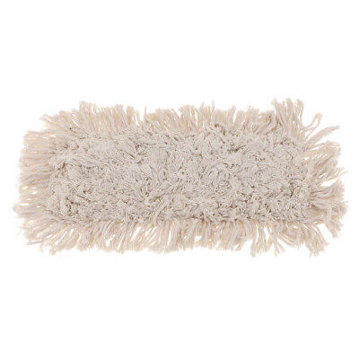 Industrial Strength Cotton Dust Mop Head Refill for Home, Commercial Use