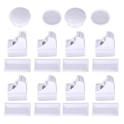 FABE Magnetic Cupboard Locks for Baby Safety Child Proofing (8 Locks + 2 Ke X4J8