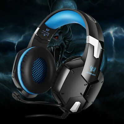 EACH 3.5mm Gaming Headset MIC Headphones G2000B for Laptop PS4 Slim Xbox One 360