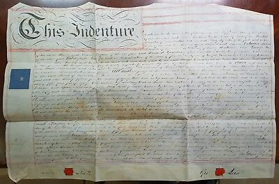 1816 Indenture. Preston & Lee to Ganthony, Watchmaker. St. Mary, Rotherhithe