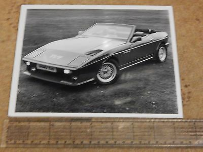 "TVR 390 SE convertible press photo (UK - 1986) 8½"" x 6½"""