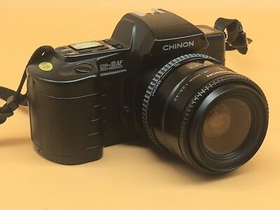 Chinon CP-9AF Multi Program Film SLR Camera With Lens