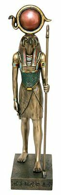 "16"" Egyptian Horus Sculpture Ancient Egypt God Statue Pagan Falcon  Figure"