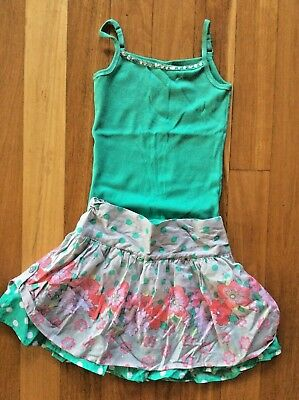 NWT  Girls size 10 skirt and top Pumpkin patch