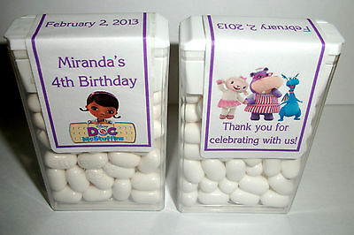 14 Doc Mcstuffins Birthday Party Favors Tic Tac Labels ~ Personalized