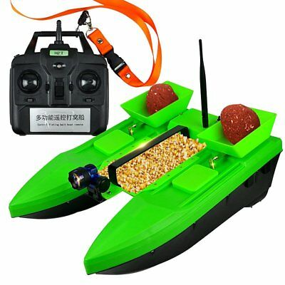 500M Wireless RC Fishing Bait Boat 2KG Load Three Cabin Wo Double Hull Bait Boat