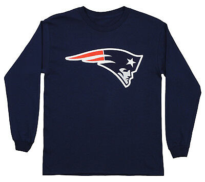 OUTERSTUFF NFL YOUTH New England Patriots Long Sleeve Team Logo Tee ... 7ce03ff9e