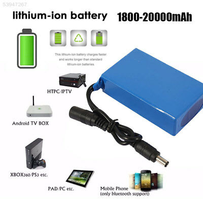 AF24 20000mAh Polymer Li-Ion Battery DC 12V Blue Spare Battery Large Capacity