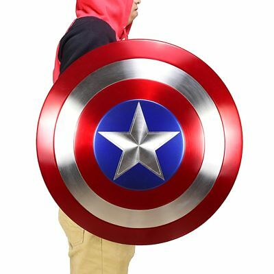 COOL Fine CATTOYS  1:1 The Avengers Captain America Shield Strong Metal Made